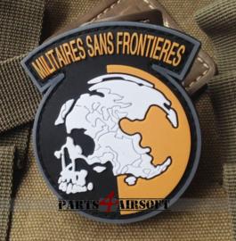 Militaires Sans Frontieres PVC Patch (Metal Gear Solid) - 7x6cm (P4A784)