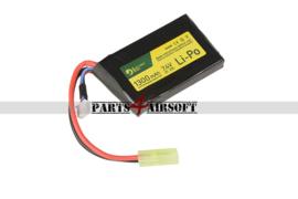 Lipo Batterij / Accu - PEQ - 7,4V 1300mAh - 20C (P4A1011)