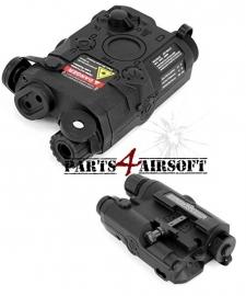 PEQ-box - AN-PEQ-15 Battery Case - Zwart (P4A654)