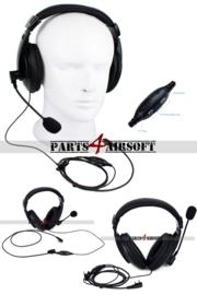 Tactical headset - PTT/VOX (P4A1059)