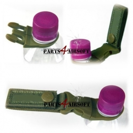 Molle Riemgesp met Click-on bottle holder - Olive Drab (P4A639)