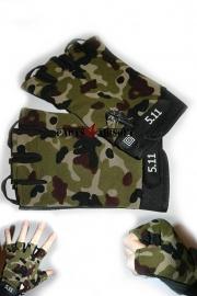 Handschoen zonder vingers - Camouflage (P4A359)