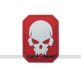 Skullhead PVC Patch - 4,8x3,7cm (P4A1038)
