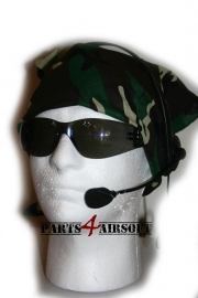Face Wrap Camouflage - Jungle BDU (P4A429)
