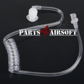 Earpiece vervangstuk transparant #1 (P4A421)
