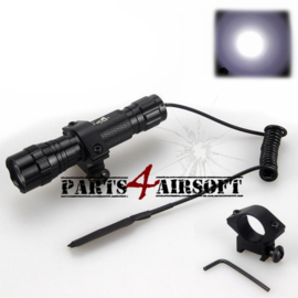 Zaklamp LED (Cree) 5000lm - Airsoft kit (P4A501)
