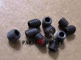 Schroef zonder kop Imbus 5st - Zwart - M4x4mm (P4A228)
