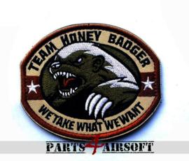 Team Honey Badger Patch - 9x7,5cm (P4A774)