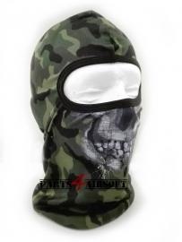 Bivakmuts Balaclava Skull - Enkel ooggat - Camouflage (P4A524)