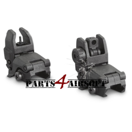 Flip-Up Folding Sights -Zwart (P4A413)