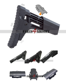 Scorpion Evo 3 A1 SSU Stock-Butt Stabilizer Unit (P4A1048)