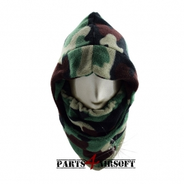 Winter Bivakmuts Balaclava Fleece - Jungle BDU (P4A351)