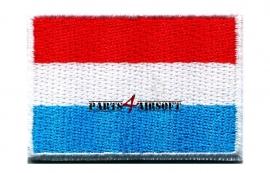 Insigne Patch Vlag - Luxemburg - 4,5x3cm (P4A368)