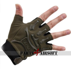 Tactical Gloves zonder vingers #2 - Olive Drab (P4A777)