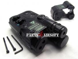 PEQ-box - AN-PEQ-16 Battery Case - Zwart (P4A616)