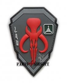 Starwars Bounty Hunter Boba Fett Mandalorian Bantha PVC Patch - 10x7cm (P4A598)