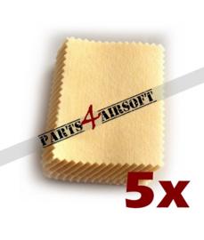Microfiber Poetsdoekjes voor Glasses & Scopes - 5st (P4A816)