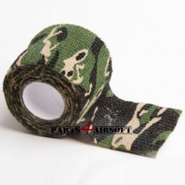 Camouflage band 4,5cmx5m - Jungle BDU (P4A215)