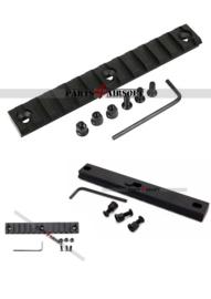 Keymod Base met 20mm RIS Rail - 13,5cm (P4A914)