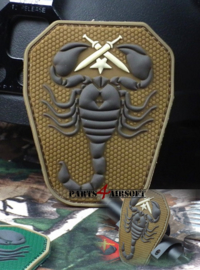 Scorpion Unit PVC Patch - 9,5x7,5cm (P4A772)
