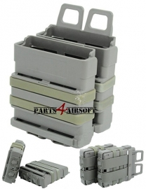 Fast Mag Double Magazin Pouch - Olive Drab - 2 stuks (P4A479)