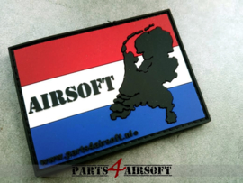 Airsoft Nederland Patch - 7,5x5,5cm (P4A924)