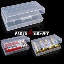 Batterij bewaardoos 16340 CR123A 18650 (P4A657)