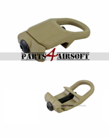 20mm RIS Sling Mount #2 - Tan (P4A1056)