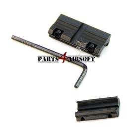 RIS verloop 11mm naar 20mm (P4A449)