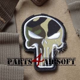 Punisher Patch - Camo - 7,5x5,5cm (P4A563)