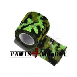 Camouflage band 4,5cmx5m -Spring forest (P4A470)