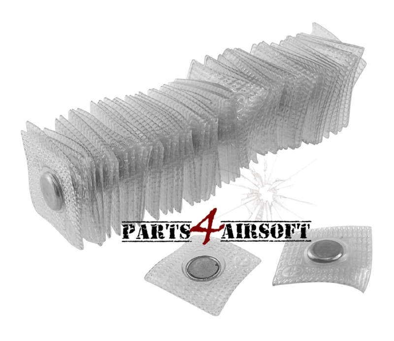 Pouch reparatie: 2st magnetische sluiters (P4A344)