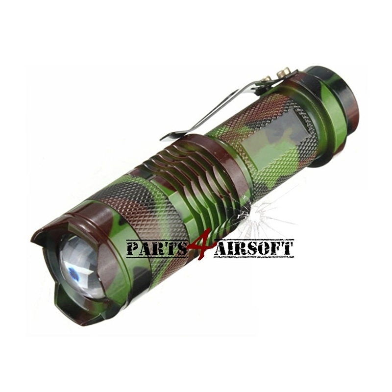Zaklamp LED (Cree) 1200lm Aan/Uit - Camouflage (P4A464)
