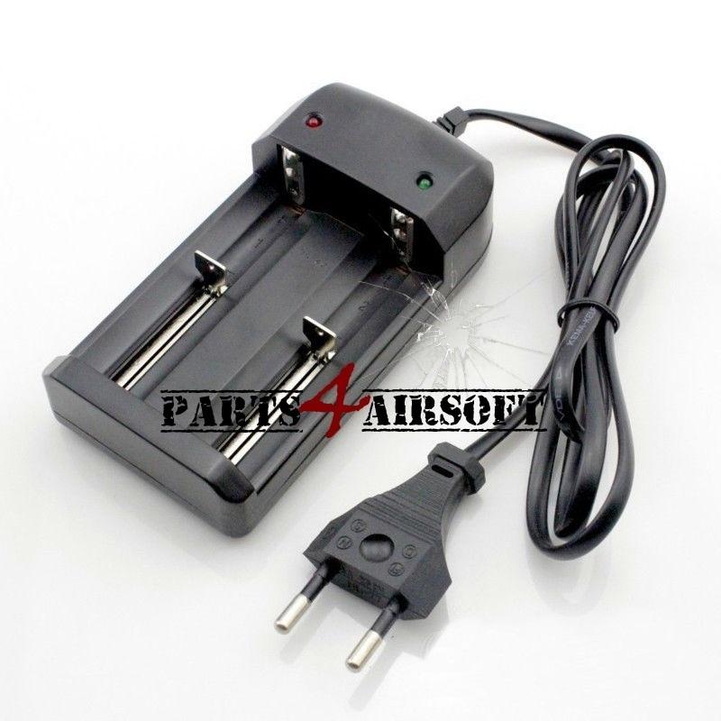 Oplader voor 3,7V 26650 18650 16340 14500 Li-ion batterijen (P4A629)