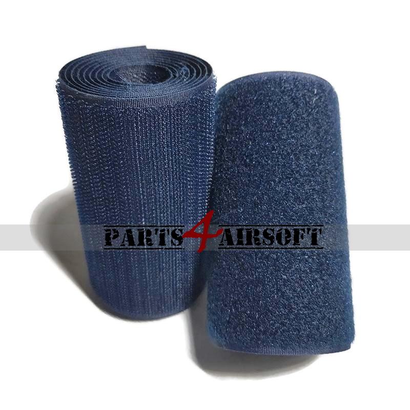 Klittenband 10cmx10cm - Hooks (grof) of Loops (zacht) - Navy Blue (P4A1068)