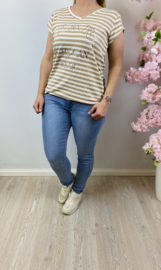 TOP HEART BEIGE
