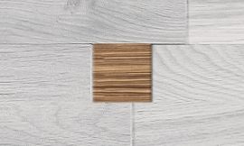 Inserts - West-African Zebrawood