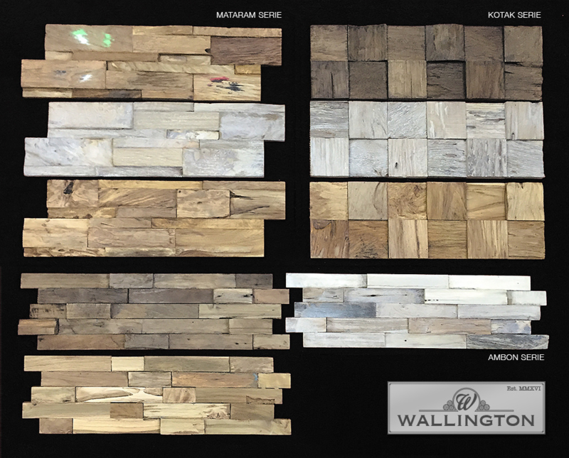 Sample Box Wallington Teak
