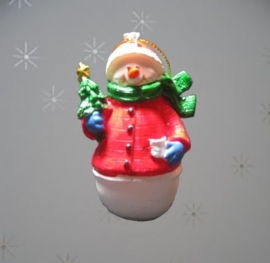 Kerstdecoratie sneeuwman