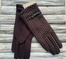 Juleeze Handschoenen Dotted Bruin