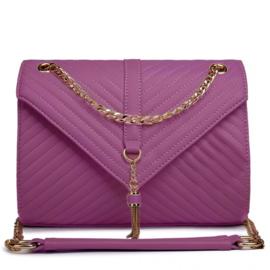 Miss Lulu Schoudertas Purple