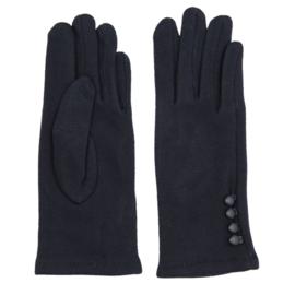 Juleeze Handschoenen Small Buttons Blauw