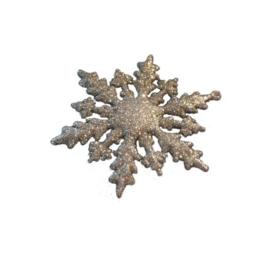 Sneeuwvlok Zilver Set van 3