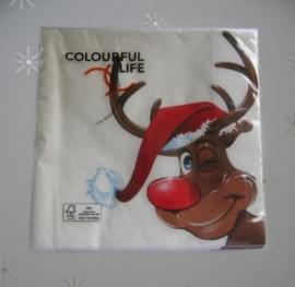 Kerstservet Rudolph