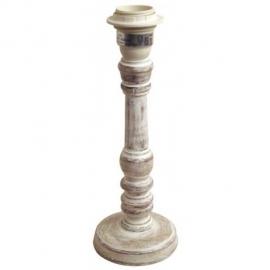 Lampenvoet Ashley 26 cm Boeren wit