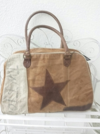 Canvas Multi Bag met Ster Colmore by Diga/Pinelake Lodge
