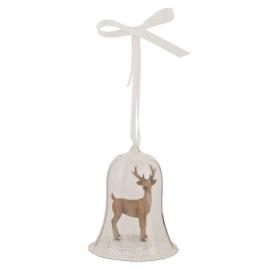 Clayre & Eef Kunststof Decoratie hanger hert
