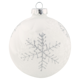 Ball Glass white hanging