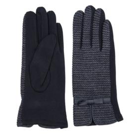 Juleeze Handschoenen Strik Blauw