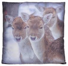 Kussen Deer Fabric